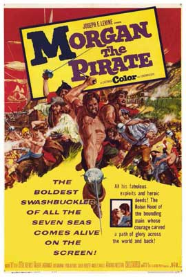 Morgan the Pirate - 27 x 40 Movie Poster - Style A