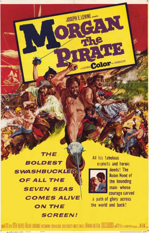 Morgan, the Pirate movie
