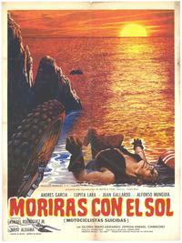 Moriras Con En Sol - 11 x 17 Movie Poster - Spanish Style A