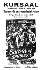 Morning Departure - 11 x 17 Movie Poster - Spanish Style A