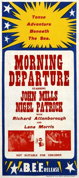 Morning Departure - 13 x 28 Movie Poster - Italian Style A
