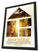 Morning - 11 x 17 Movie Poster - Style C - in Deluxe Wood Frame