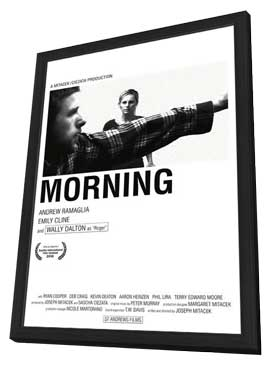Morning - 11 x 17 Movie Poster - Style A - in Deluxe Wood Frame