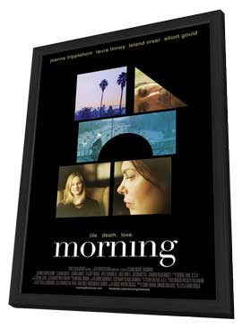Morning - 11 x 17 Movie Poster - Style D - in Deluxe Wood Frame