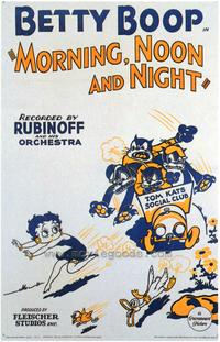 Morning, Noon, and Night - 43 x 62 Movie Poster - Bus Shelter Style A