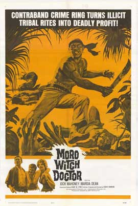 Moro Witch Doctor - 11 x 17 Movie Poster - Style A