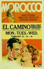 Morocco - 27 x 40 Movie Poster - Spanish Style A