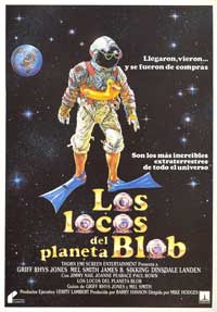 Morons From Outer Space - 11 x 17 Movie Poster - Spanish Style A