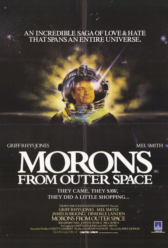 Morons from outer space full movies watch online free for Outer space movies