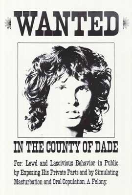 Jim Morrison - 11 x 17 Music Poster - Style B
