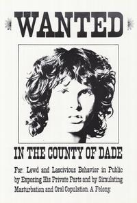 Jim Morrison - 27 x 40 Music Poster - Style A