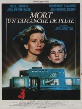 Mort un dimanche de pluie - 11 x 17 Movie Poster - French Style A