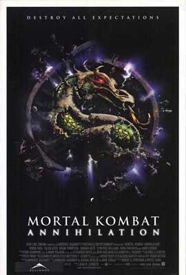 Mortal Kombat 2: Annihilation - 27 x 40 Movie Poster - Style B