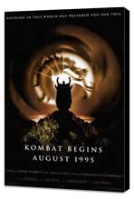 Mortal Kombat 1: The Movie - 27 x 40 Movie Poster - Style B - Museum Wrapped Canvas