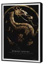 Mortal Kombat 1: The Movie - 27 x 40 Movie Poster - Style C - Museum Wrapped Canvas