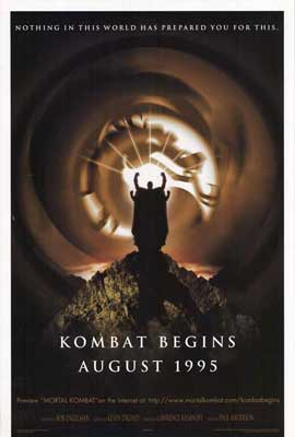 Mortal Kombat 1: The Movie - 11 x 17 Movie Poster - Style A