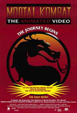 Mortal Kombat 1: The Movie - 11 x 17 Movie Poster - Style G