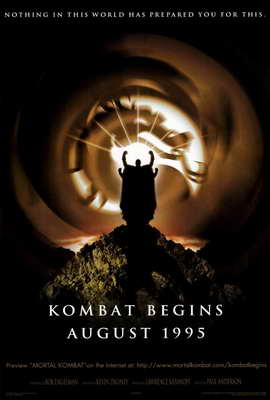 Mortal Kombat 1: The Movie - 27 x 40 Movie Poster - Style B
