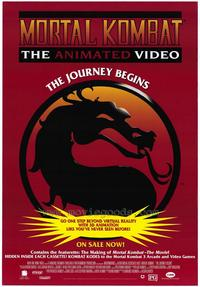 Mortal Kombat 1: The Movie - 27 x 40 Movie Poster - Style D