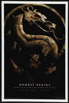 Mortal Kombat 1: The Movie - 27 x 40 Movie Poster - Style C