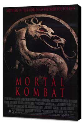 Mortal Kombat 1: The Movie - 11 x 17 Movie Poster - Style B - Museum Wrapped Canvas