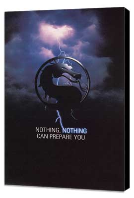 Mortal Kombat 1: The Movie - 11 x 17 Movie Poster - Style F - Museum Wrapped Canvas
