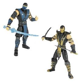 Mortal Kombat 1: The Movie - 9 4-Inch Action Figures Wave 1 Set