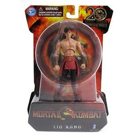 Mortal Kombat 1: The Movie - 9 4-Inch Liu Kang Action Figure