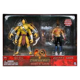 Mortal Kombat 1: The Movie - 5-Inch Goro's Lair with Johnny Cage Figure