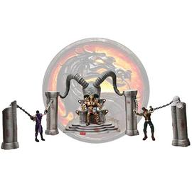 Mortal Kombat 1: The Movie - Shao Kahn Throne and Arena Playset with Figure