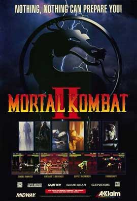 Mortal Kombat (VG) - 11 x 17 Movie Poster - Style A