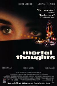 Mortal Thoughts - 11 x 17 Movie Poster - Style A