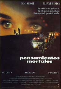 Mortal Thoughts - 11 x 17 Movie Poster - Spanish Style A
