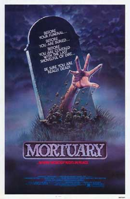 Mortuary - 11 x 17 Movie Poster - Style A