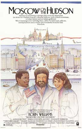 Moscow on the Hudson - 11 x 17 Movie Poster - Style A