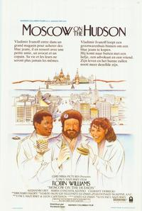 Moscow on the Hudson - 11 x 17 Movie Poster - Belgian Style A