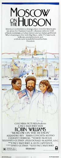Moscow on the Hudson - 14 x 36 Movie Poster - Insert Style A