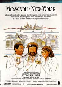Moscow on the Hudson - 11 x 17 Movie Poster - French Style A