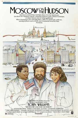 Moscow on the Hudson - 11 x 17 Movie Poster - Style B