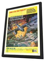 Mosquito Squadron - 11 x 17 Movie Poster - Style A - in Deluxe Wood Frame