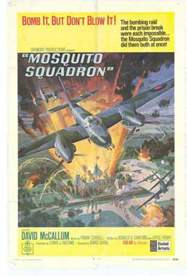 Mosquito Squadron - 27 x 40 Movie Poster - Style A