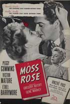 Moss Rose - 27 x 40 Movie Poster - Style A