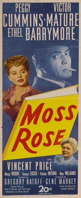 Moss Rose - 14 x 36 Movie Poster - Insert Style A