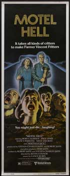 Motel Hell - 14 x 36 Movie Poster - Insert Style A