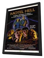 Motel Hell - 11 x 17 Movie Poster - Style A - in Deluxe Wood Frame
