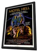 Motel Hell - 27 x 40 Movie Poster - Style A - in Deluxe Wood Frame