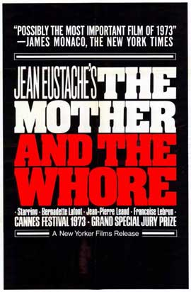 Mother and the Whore - 11 x 17 Movie Poster - Style A
