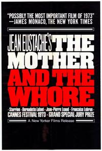 Mother and the Whore - 27 x 40 Movie Poster - Style A
