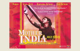 Mother India - 27 x 40 Movie Poster - Foreign - Style A