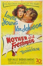 Mother Is a Freshman - 11 x 17 Movie Poster - Style A